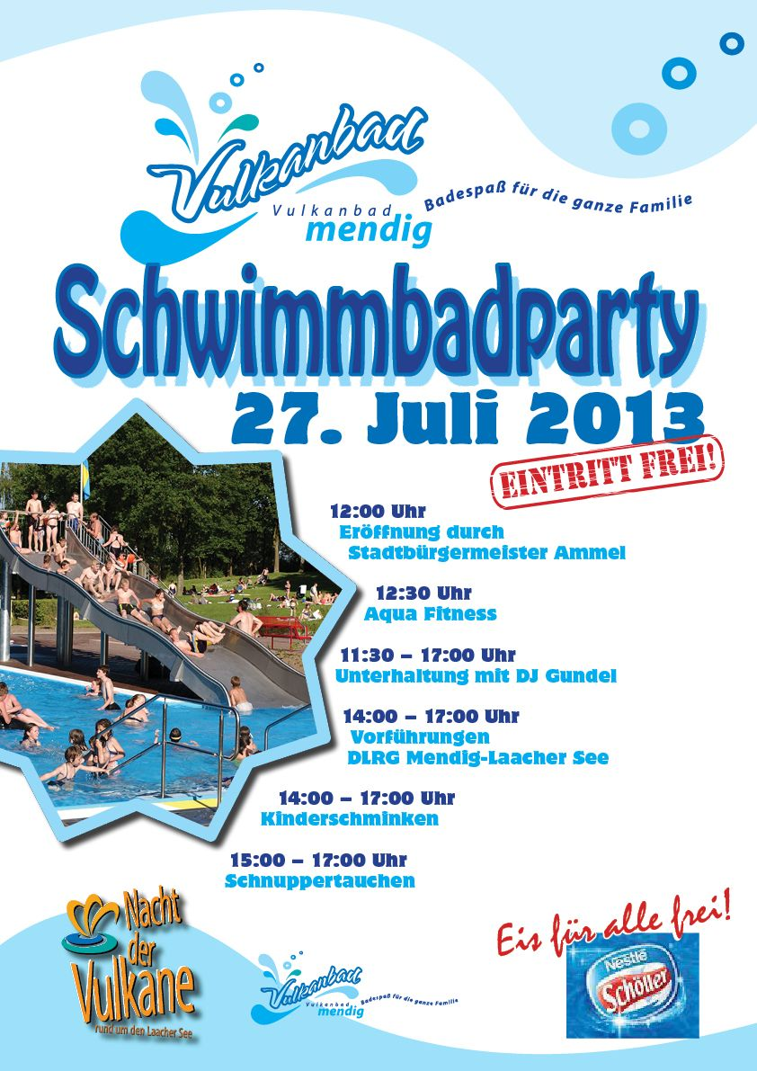 Schwimmbad-Party 2013